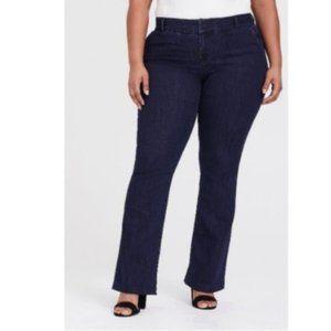 Torrid Dark Wash Comfort Stretch Trouser Jeans 20R
